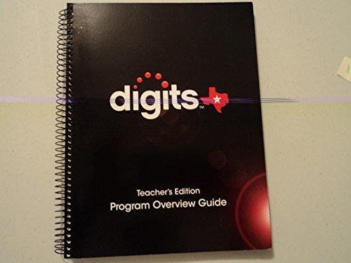9780133263923: Digits Texas Teacher Edition Program Overview Guide