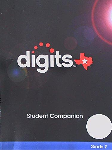 9780133263930: Digits Texas Student Companion, Grade 7