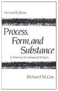 9780133266047: Process, Form, and Substance: A Rhetoric for Advanced Writers