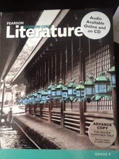 9780133268201: Pearson Literature Common Core Grade 9