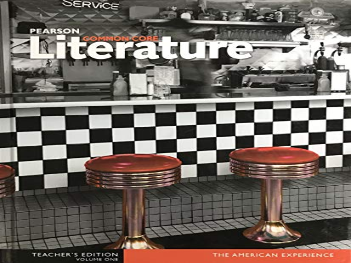 9780133268324: Pearson Common Core Literature The American Experience Volume 1 Teacher's Edition