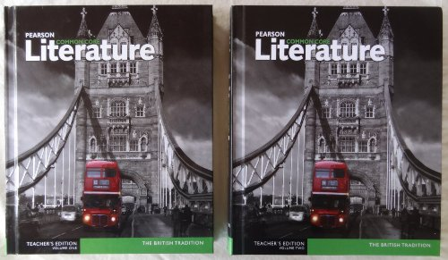 9780133268614: Pearson Common Core Literature The British Tradition Teacher's Edition Volumes One (1) & Two (2)