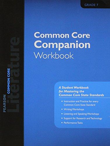 9780133271089: PEARSON LITERATURE 2015 COMMON CORE COMPANION WORKBOOK GRADE 07