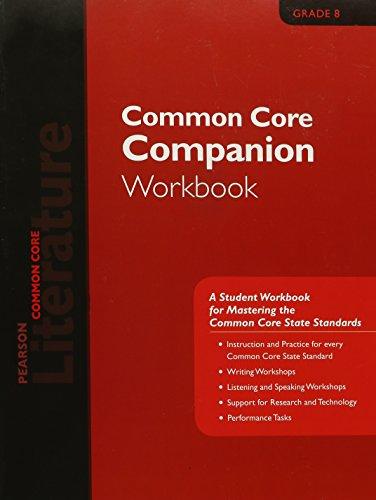 9780133271096: PEARSON LITERATURE 2015 COMMON CORE COMPANION WORKBOOK GRADE 08