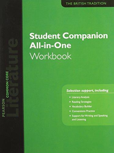 9780133271218: Pearson Literature 2015 Common Core Student Companion All-In-One Workbook Grade 12