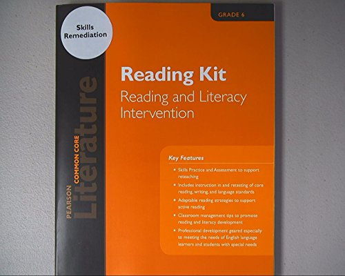 9780133272437: Literature, Common Core, Reading Kit, Reading and Literacy Intervention, Grade 6