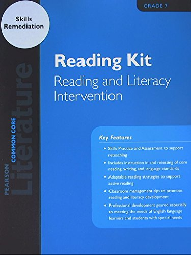 9780133272444: Pearson Literature, Reading Kit, Reading and Literacy Intervention, Common Core