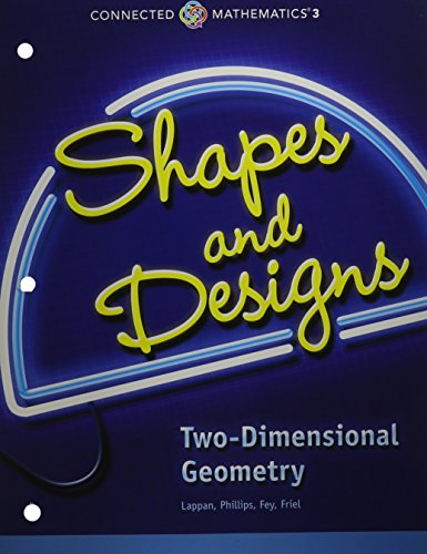 9780133274479: Connected Mathematics 3 Student Edition Grade 7: Shapes and Designs: Two-Dimensional Geometry Copyright 2014