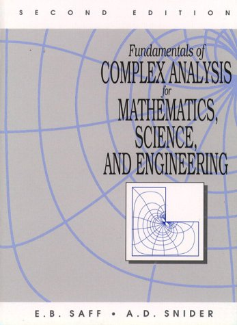 9780133274615: Fundamentals of Complex Analysis for Mathematics, Science, and Engineering