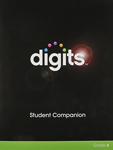 9780133276251: Digits Enhanced Student Companion Grade 6