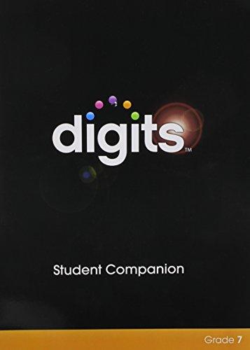 9780133276268: DIGITS ENHANCED STUDENT COMPANION GRADE 7