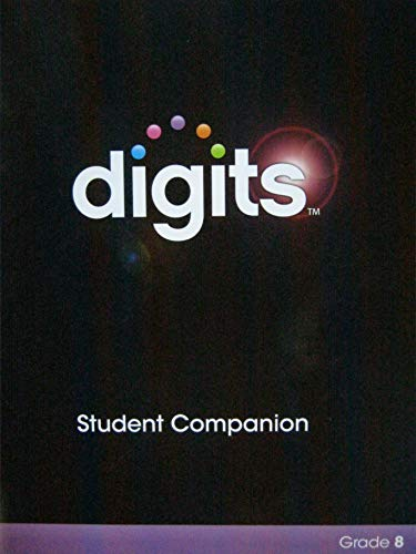 9780133276275: DIGITS ENHANCED STUDENT COMPANION GRADE 8