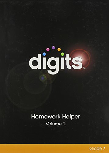 9780133276329: DIGITS HOMEWORK HELPER VOLUME 2 GRADE 7
