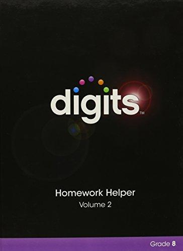 9780133276343: DIGITS HOMEWORK HELPER VOLUME 2 GRADE 8
