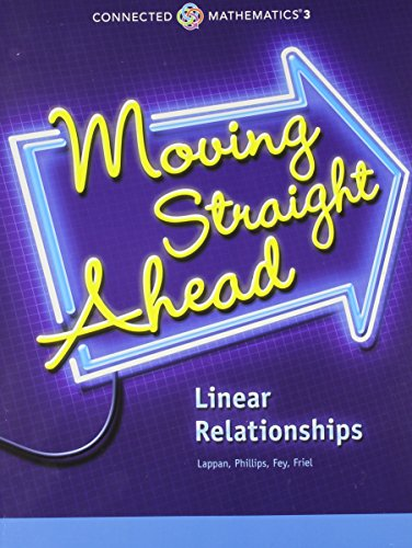 9780133276398: Moving Straight Ahead: linear Relationships, Grade 7 (Connected Mathematics)