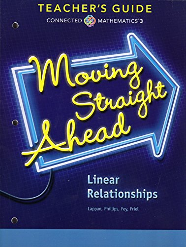 9780133276589: Moving Straight Ahead - Linear Relationships, Connected Mathematics 3, Teacher's Guide