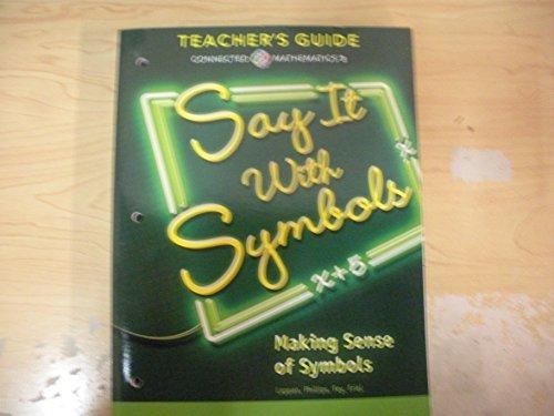 9780133276671 Connected Mathematics 3 Teachers Guide Grade 8 Say