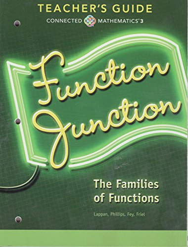 9780133276701: Function Junction; The Families of Functions, Teacher's Guide