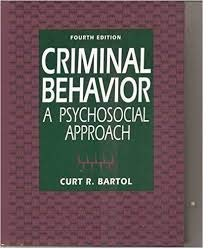 9780133279900: Criminal Behavior: A Psychosocial Approach