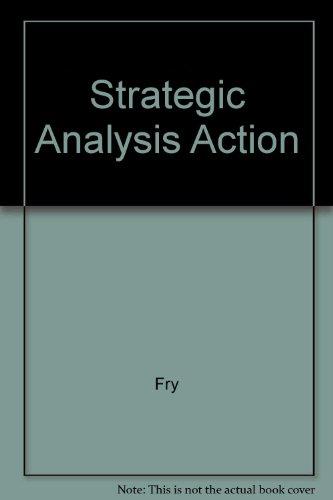 9780133280227: Strategic Analysis Action