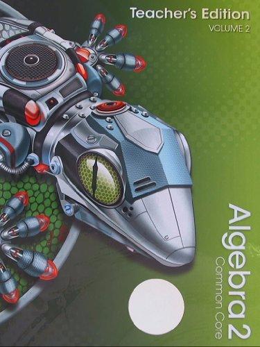 9780133281255: Algebra 2, Common Core, Teacher's Edition, Volume 2