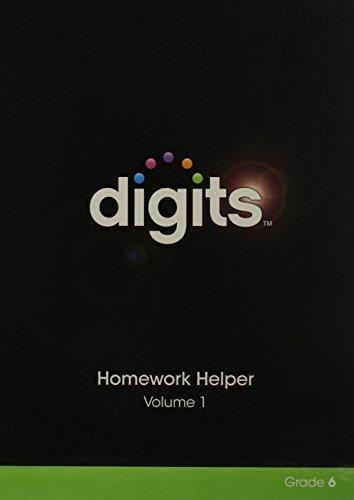 9780133282917: Digits Homework Helper Volume 1 & Volume 2 Package Grade 6