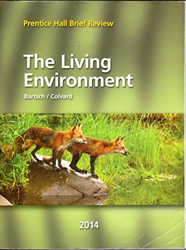 9780133287219: The Living Environment / Prentice Hall Brief Review 2014