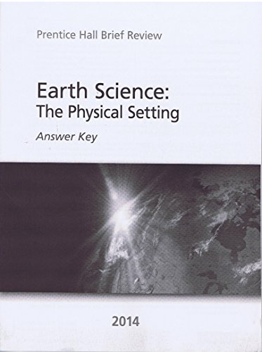 9780133287233: Earth Science: The Physical Setting Answer Key
