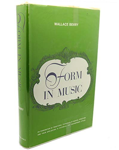 9780133292015: Form in Music