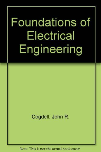 9780133295252: Foundations of Electrical Engineering