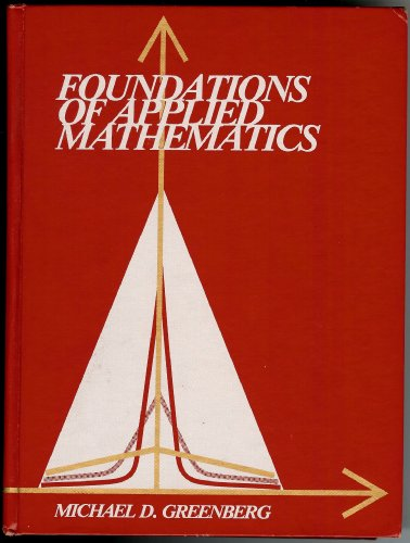 9780133296235: Foundations of Applied Mathematics