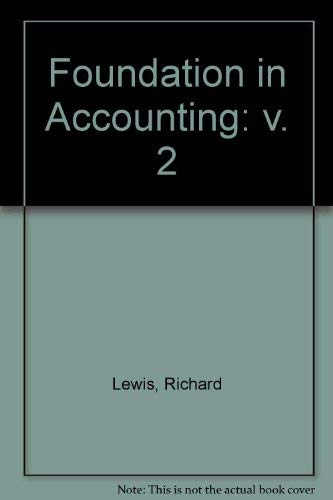 9780133296808: Foundation in Accounting: v. 2