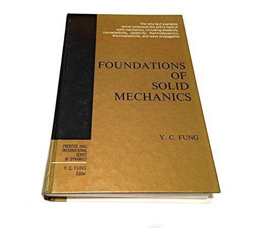 9780133299120: Foundations of Solid Mechanics (International Series in Dynamics)