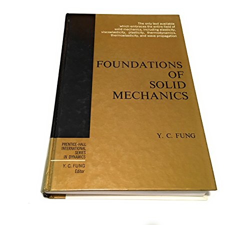 9780133299120: Foundations of Solid Mechanics (International Series in Dynamics)