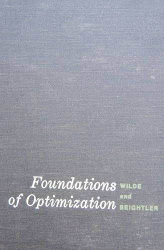 9780133300352: Foundations of Optimization.