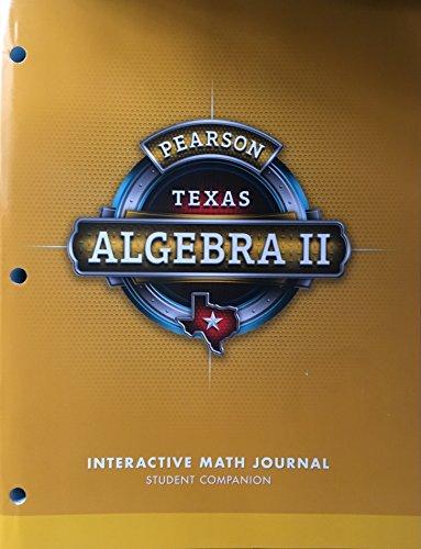 Pearson Algebra 2 - Texas - Interactive: Pearson