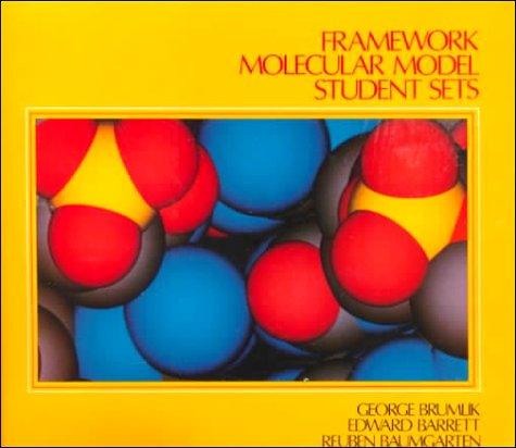 9780133300765: Framework Molecular Model Student Kit
