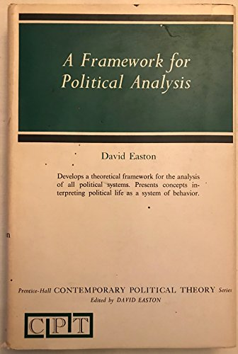 9780133301830: Framework for Political Analysis