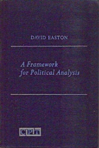 A framework for political analysis: Easton, David