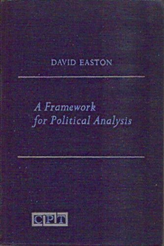 9780133301830: A Framework for Political Analysis. Prentice-Hall Contemporary Political Theory Series