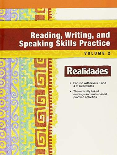9780133303001: REALIDADES 2016 READING WRITING AND SPEAKING PRACTICE LEVEL 3/4