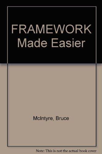 9780133305319: FRAMEWORK Made Easier