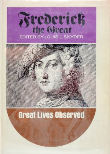 9780133306057: Frederick the Great (Great lives observed)