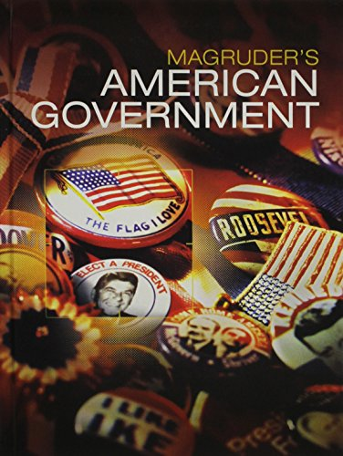 9780133306996: MAGRUDERS AMERICAN GOVERNMENT 2016 STUDENT EDITION GRADE 12