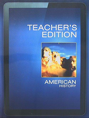 American History, Teacher's Edition, 9780133307139, 0133307131: Davidson, James West et al