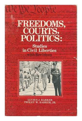 9780133308785: Freedom, courts, politics: Studies in civil liberties