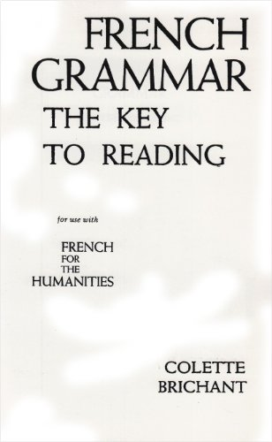 9780133312645: French Grammar: The Key to Reading