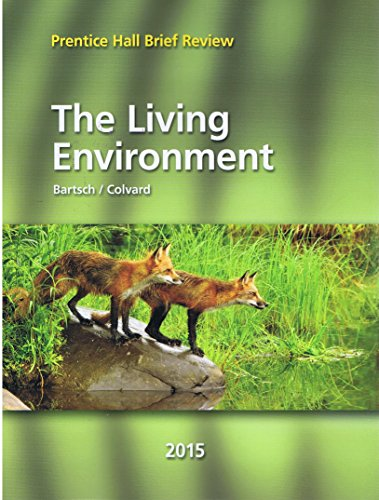 9780133315219: 2015 Prentice Hall Brief Review The Living Environments