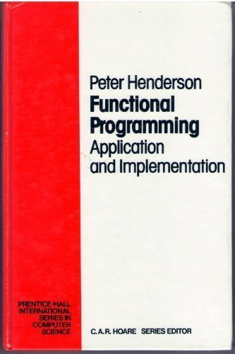 9780133315790: Functional Programming Application and Implementation