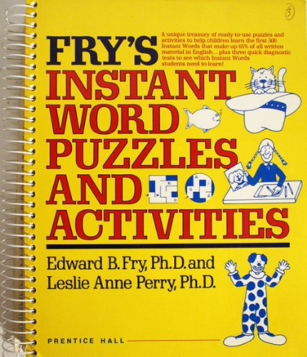 9780133317534: Fry's Instant Word Puzzles and Activities